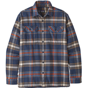 Patagonia Fjord LS Flannel Shirt Herr defender/neo navy